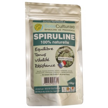 Spiruline de Provence - Paillettes